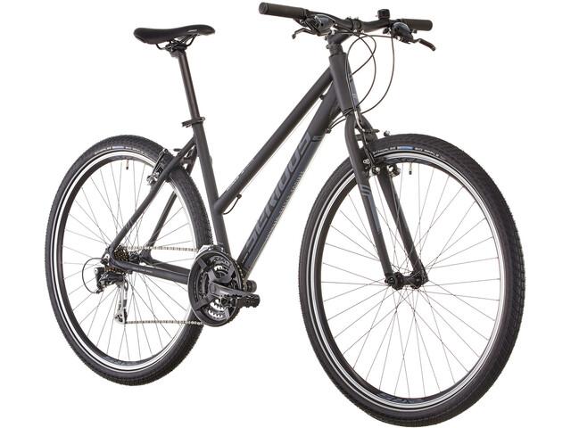 Serious Cedar Hybridcykel Damer Hybrid sort | City-cykler